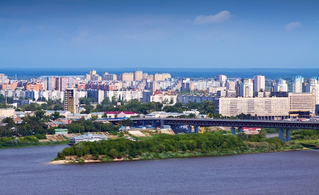 Vue De Nijni Novgorod Photo gratuit