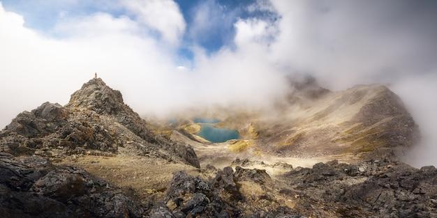 Vue Panoramique De Julius Summit Peak Parc National De Nelson Lake Nouvelle-zélande Photo Premium