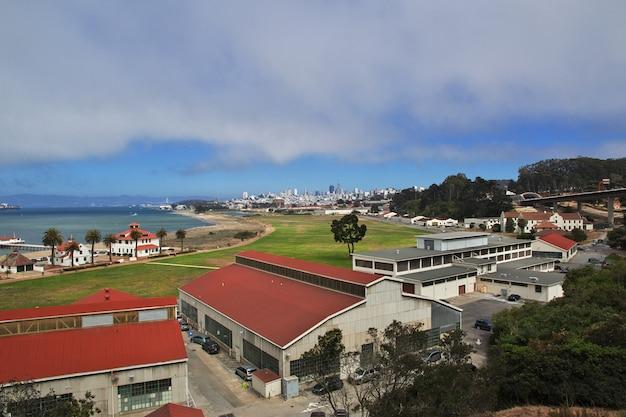 La Vue Sur San Francisco, Côte Ouest Des états-unis Photo Premium