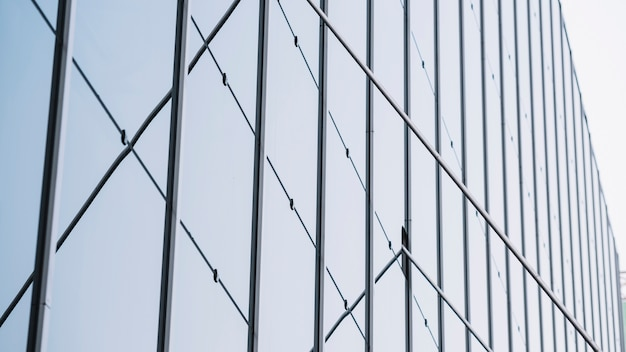 Vue Sécurisée Du Bâtiment à Faible Angle Photo gratuit