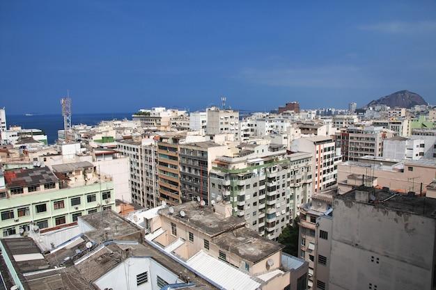 Vue Sur Les Toits De Rio De Janeiro, Brésil Photo Premium