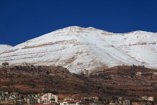 La Vue Sur La Vallée De Kadisha, Au Liban Photo Premium