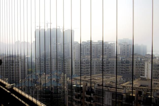 Vue Sur La Ville En Chine Photo gratuit