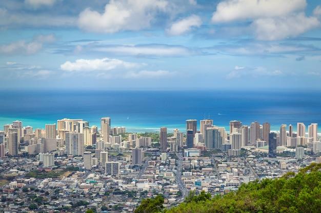 Vue de la ville Photo Premium