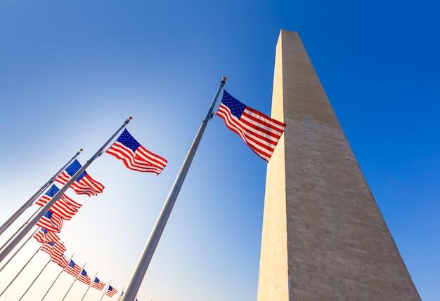 Washington monument à district de columbia dc Photo Premium