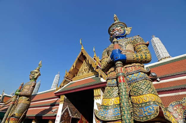 Wat pra kaew Photo Premium