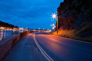 Waterford crépuscule scène de rue contrastée Photo gratuit