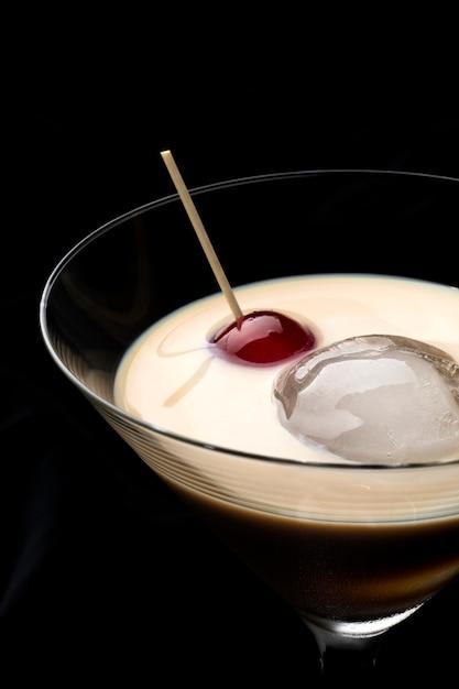Whisky Irlandais à La Crème Photo Premium