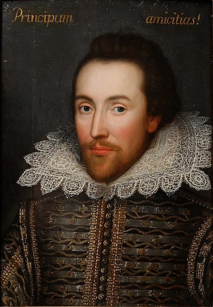 William Shakespeare écrivain Poète Portrait Peinture Photo gratuit