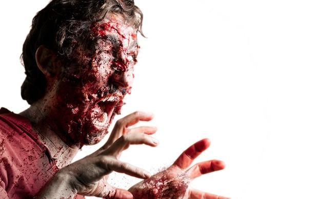 Zombie Effrayant Photo gratuit