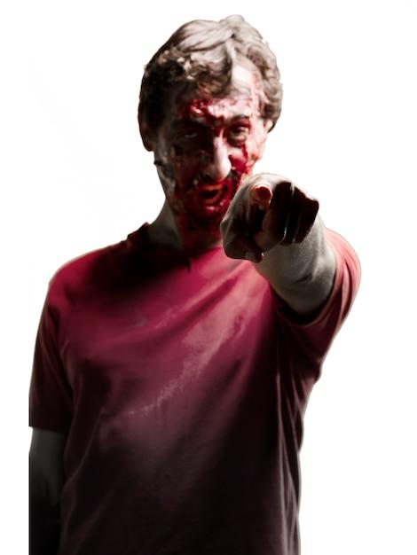 Zombie Pointage Photo gratuit