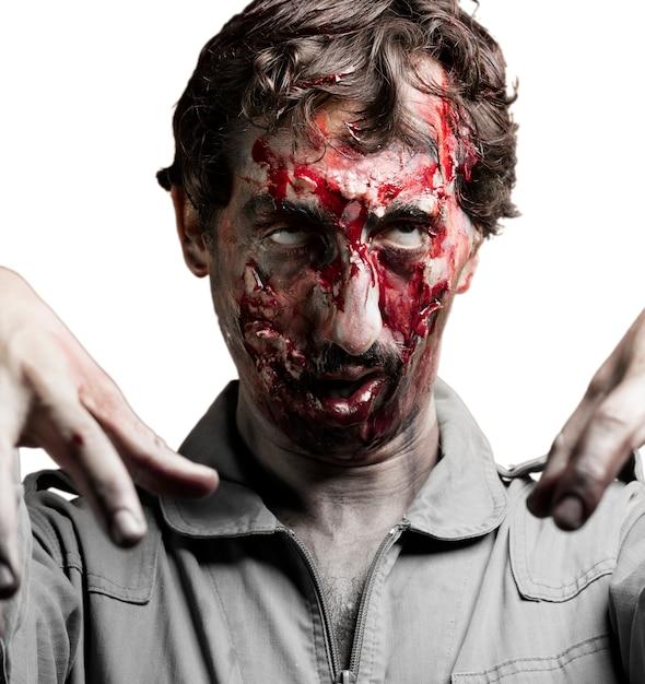 Zombie Regardant Photo gratuit