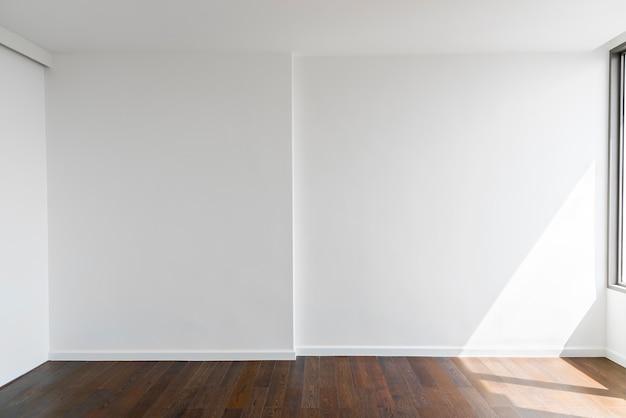 Abstrait de blanc mur de béton blanc à la maison ou au bureau avec