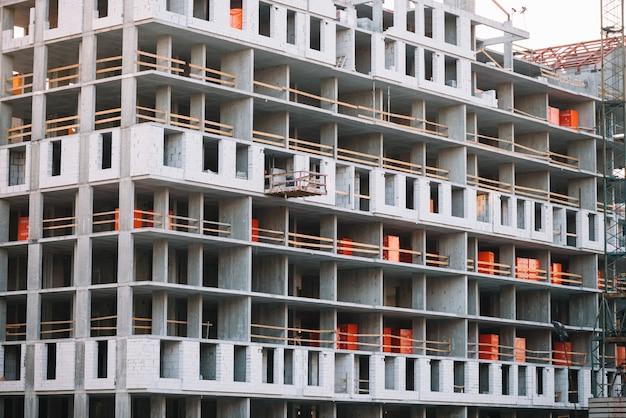 Bâtiment en construction Photo gratuit