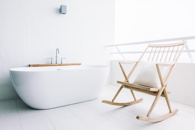 blanc baignoire décoration Belle de luxe Photo gratuit