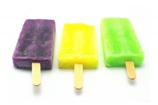 bonbons à la crème glacée, closeup Photo gratuit