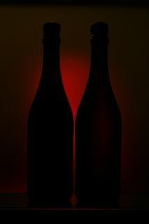 bouteilles, l'alcool, l'effet Photo gratuit