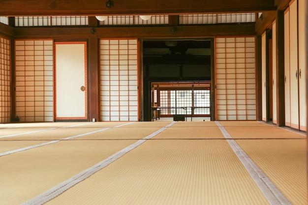 chambre japonaise avec un sol en tatami t l charger des photos gratuitement. Black Bedroom Furniture Sets. Home Design Ideas