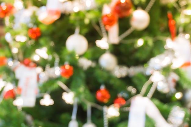 D cor arbre de no l floue t l charger des photos - Arbre de noel decore ...
