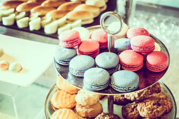 desserts colorés délicieux Photo gratuit