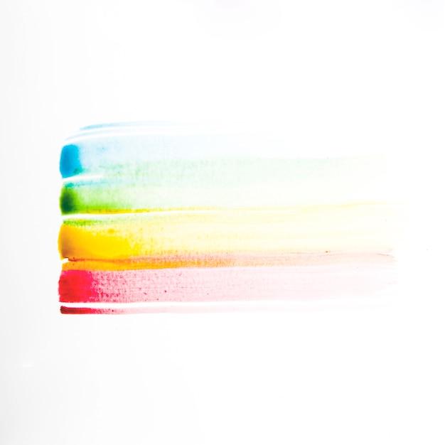Différentes lignes de peinture colorées Photo gratuit