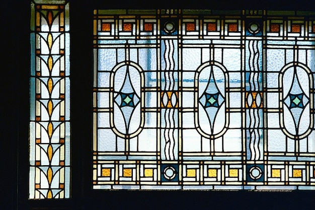 Fen tre architecture art nouveau t l charger des photos for Art nouveau fenetre