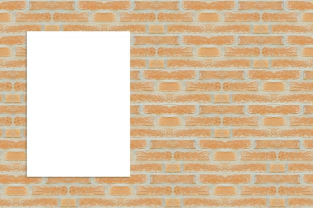 feuille blanche sur le mur de briques t l charger des photos gratuitement. Black Bedroom Furniture Sets. Home Design Ideas