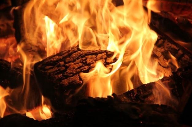 flamme chemin e feu de br ler du bois brasier ouvert. Black Bedroom Furniture Sets. Home Design Ideas