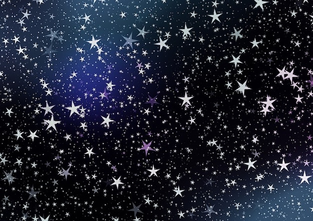 Night Sky Stars Graphic