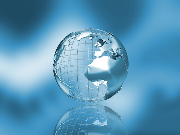 Fond de globe Photo gratuit