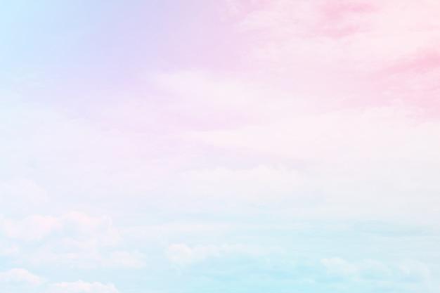 Fond Pastel De Couleur Abstraite Un Ciel Doux Avec Fond