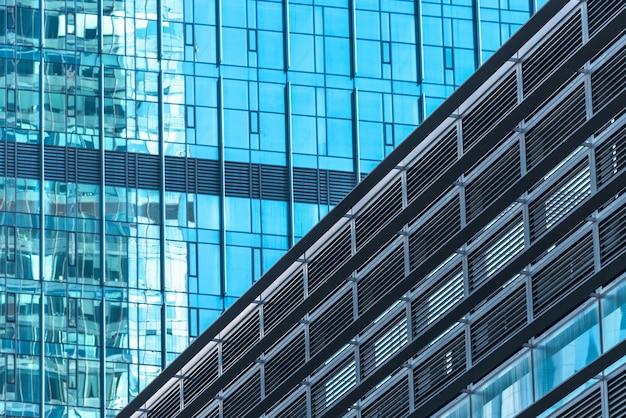Gros plan des immeubles de bureaux modernes télécharger des