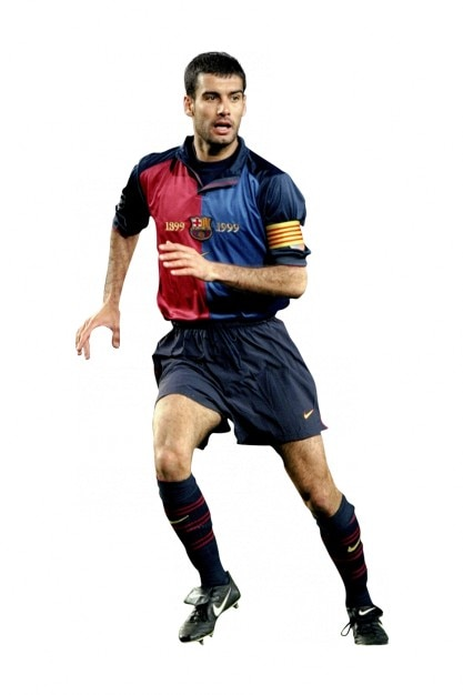 josep guardiola  joueur de football l u00e9gendes