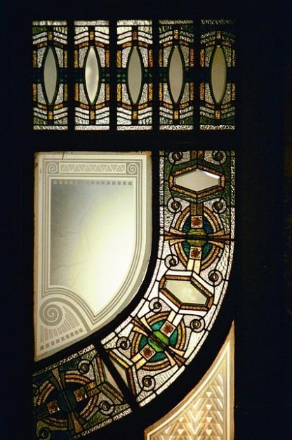 L 39 architecture art nouveau hall d 39 entr e fen tre for Art nouveau fenetre