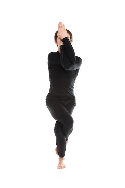 l 39 homme avec les jambes et les bras enroul t l charger des photos gratuitement. Black Bedroom Furniture Sets. Home Design Ideas