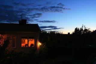maison pendant la nuit le renforcement des t l charger des photos gratuitement. Black Bedroom Furniture Sets. Home Design Ideas