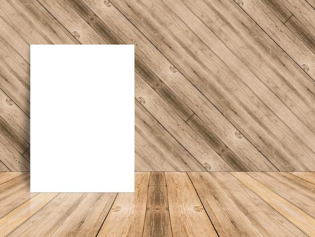 papier blanc sur une surface en bois t l charger des