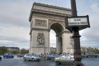 Paris en hiver Photo gratuit