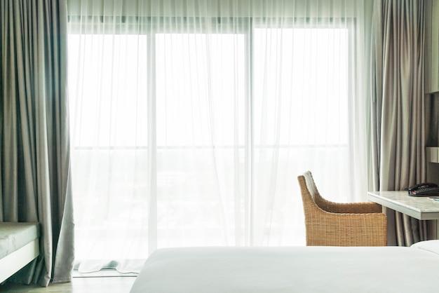 rsum flou rideau vide dcoration intrieure dans le salon photo gratuit