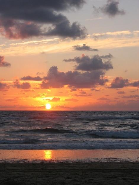 Romantique soleil mer oc an atlantique coucher de soleil - Fond ecran coucher de soleil sur la mer ...