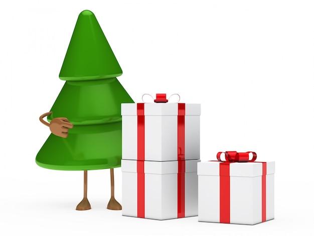 Sapin avec trois cadeaux de no l t l charger des photos gratuitement - Sapin avec cadeaux ...