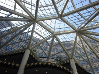 Structure du toit en verre maison t l charger des for Maison toit en verre