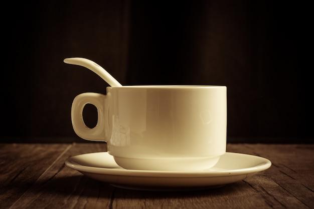 Tasse de caf avec th et soucoupe t l charger des - Tasse a cafe avec support ...