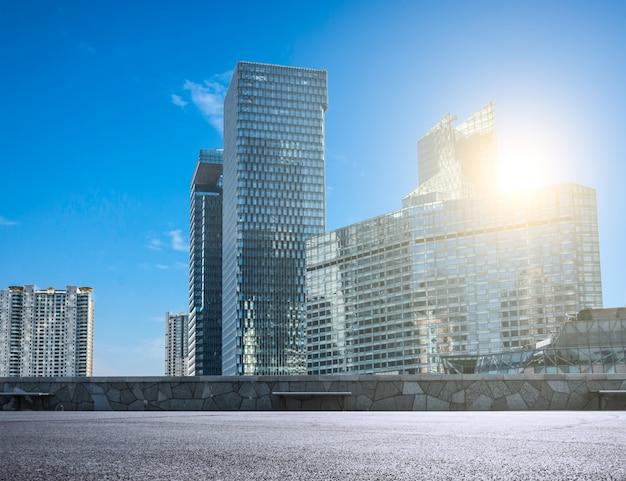 Ville moderne avec des gratte ciel de verre t l charger for Ville moderne