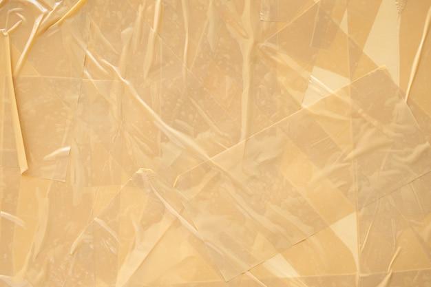 Fondo marrone astratto del nastro adesivo Foto Premium