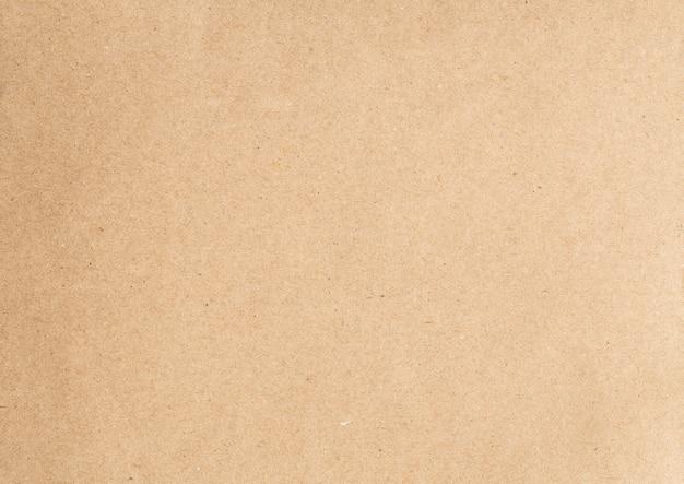 Priorità bassa di struttura di carta riciclata marrone astratta Foto Premium