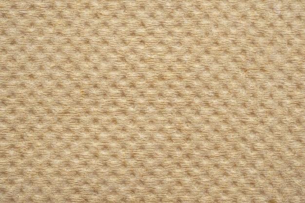 Struttura del tovagliolo di carta velina riciclata marrone astratta Foto Premium