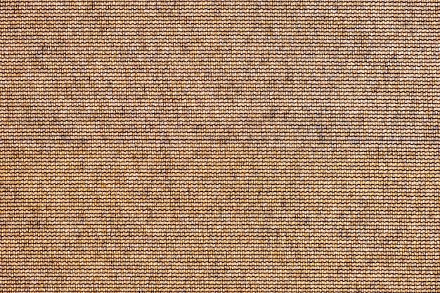 Sfondo astratto trama marrone. superficie della tela ruvida del sacco come sfondo Foto Premium