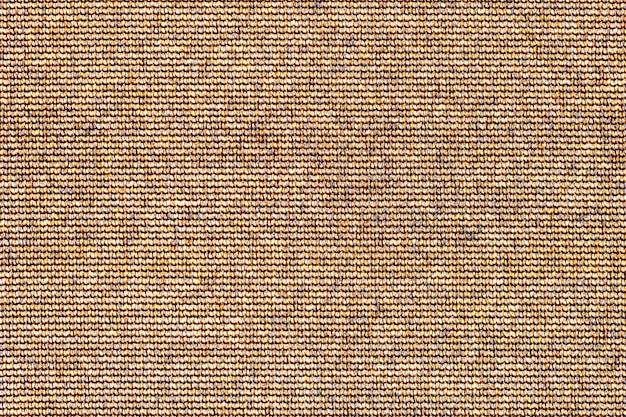 Sfondo astratto trama marrone. superficie della tela ruvida del sacco Foto Premium