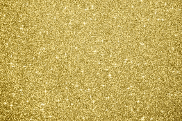 Fondo astratto della scintilla di scintillio dell'oro Foto Premium